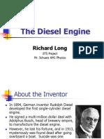 STS, The Diesel Engine