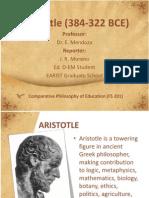 Aristotle (384-322 BCE) Report