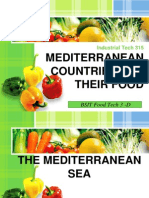 Mediterranean Countries and Their Food