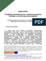 Mezei Péter_A digitális szocializmus és a telekommunizmus kritikája