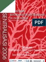 Reformasi Desentralisasi Indonesia
