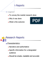 8 Writing Research Report