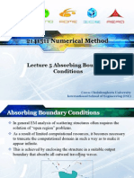 2141511Lecture05-AbsorbingBoundaryConditions