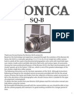 Bronica SQ-B Manual