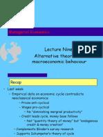 Managerial Economics Lecture Economy Alternative 02