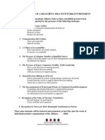 Principles and Elements Healthful Work Practice