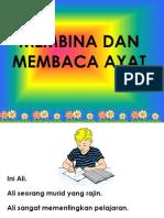 Membina Dan Membaca Ayat