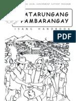 Katarungang Pambarangay Handbook