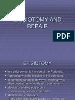 Episiotomy and Repair