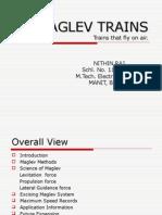 Nithin Raj Maglev Trains
