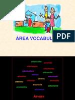 Familia Palavras e Area Voc