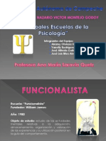 ESCUELAS PSICOLOGIIA