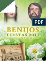 Programa de las Fiestas de Benijos 2011