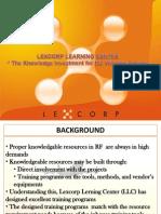 LLC Training Syllabus
