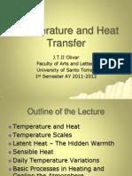 11. Temperature and Heat Transfer