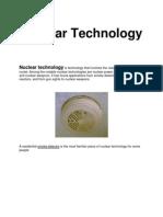 Nuclear Technology