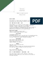 The Adjustment Bureau Movie Script