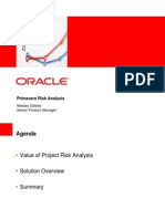 Oracle Primavera Risk Analysis Overview (Full)1
