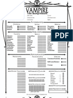 Vampire V20-Playtest 4-Page Editable