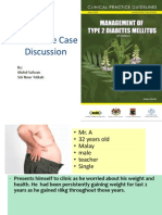 Interactive Case Discussion Diabetes