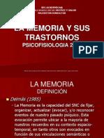 Trastornos de La Memoria Um Cervantes 2011