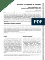 Aplicações Farmacêuticas de Polímeros - Artigo de Revisão