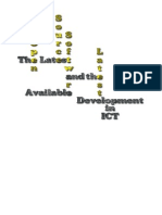 the Latest Open Source Software Available and the Latest Development in ICT Copy