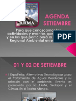 Agenda Setiembre