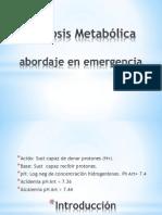 Acidosis Metablica
