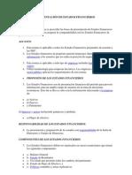 PRESENTACIÓN DE ESTADOS FINANCIEROS n.a.g.a
