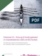 Enterprise 2.0 Studie - Nutzung und Handlungsbedarf, August 2011