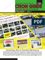 Sept 1 2011 Auction Guide