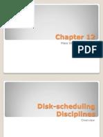 OS Disk Sheduling