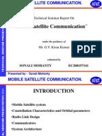 Mobile Satellite Communication
