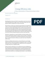 A Star Turn for Energy Efficiency Jobs