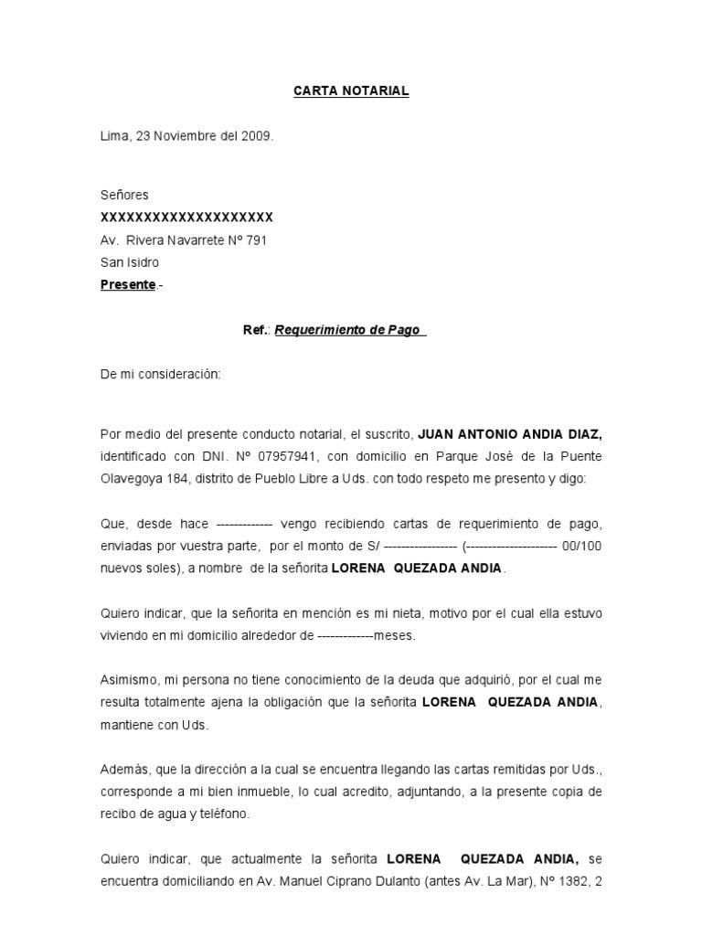 Contemporáneo Plantilla Notariada Componente - Colección De ...