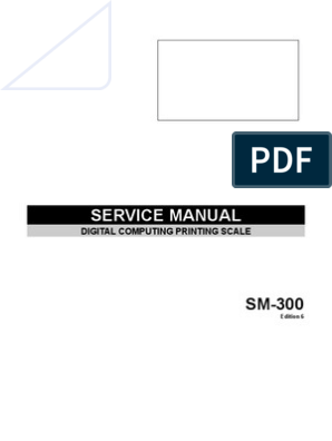 SM-300 Service Manual Edition 6 | Electrical Connector | Ip