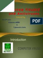 Virus and Antivirus Ppt