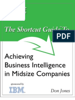 Bk Shortcut Guide Achieving Business Intelligence in Midsize Companies
