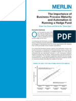 The Importance of Business Process Maturity and Automation
