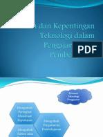 Peranan Dan Kepentingan Teknologi Dalam Pengajaran Dan Pembelajaran