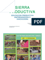 Escuela Product or A - Sierra Productiva