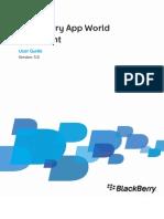 BlackBerry App World Storefront Version 3.0 User Guide