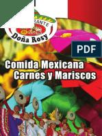 MENU Doña Rosy