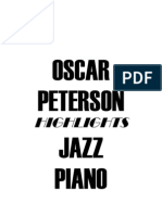 (Piano) Oscar Peterson - Jazz Piano - Studi Facili #####