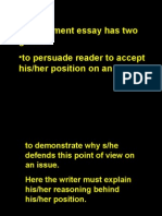 writing the essay about literature essays argument argumentative essay