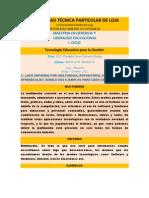 UNIVERIDAD TÉCNICA PARTICULAR DE LOJA