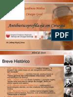 Aula - Antibioticoprofilaxia Cirurgica