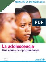 Estado Mundial de la Infancia 2011