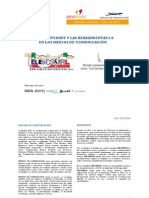 USO DE INTERNET Y LAS HERRAMIENTAS 2.0 EN LOS MEDIOS DE COMUNICACIÓN